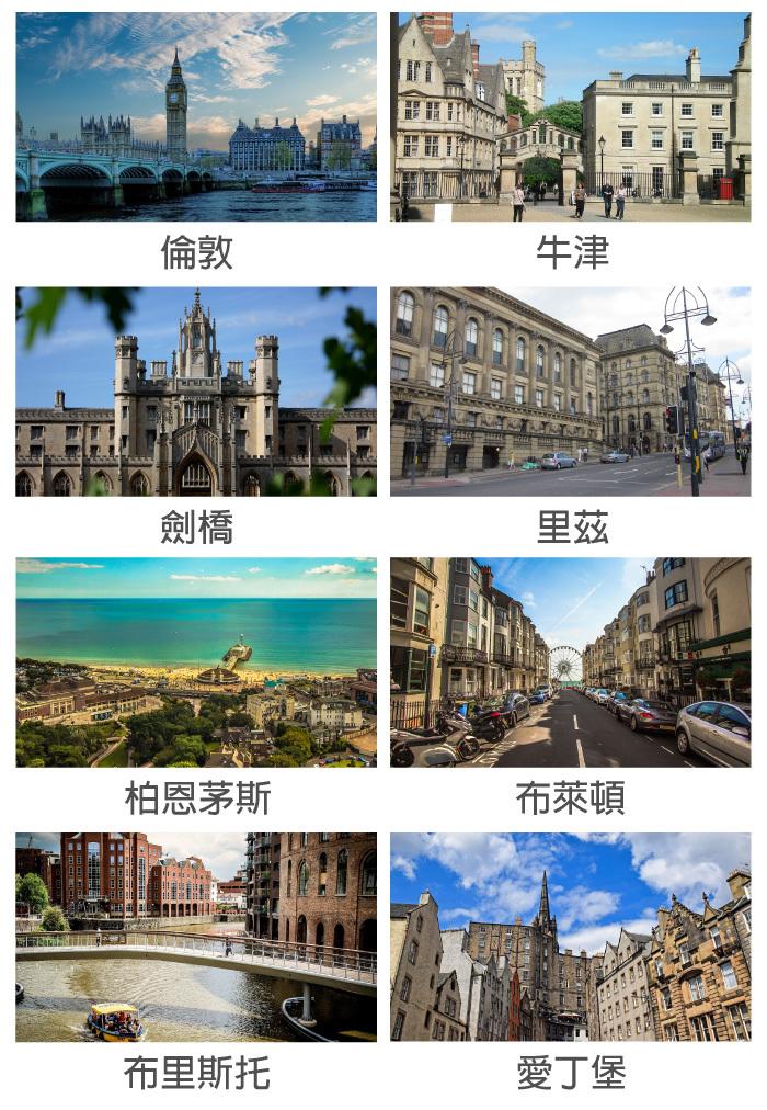 英國遊學可選擇倫敦或螺敦之外的城市,各有風情,長期學生也可選雙城遊學